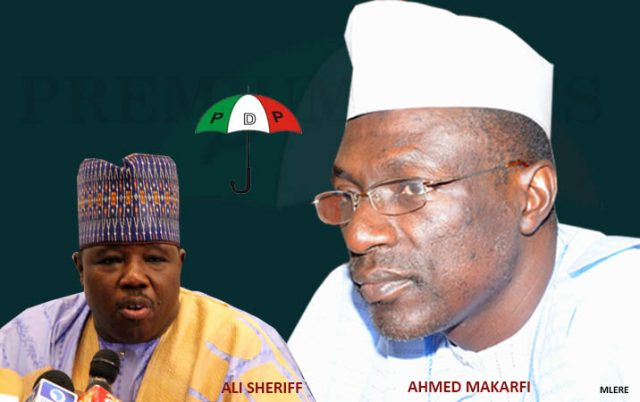Ali-Modu Sherif and Ahmed Makarfi: Leaders of both PDP factions